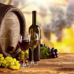 Fusti di vino