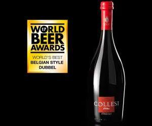 Birra Collesi è l'artigianale italiana più premiata nel mondo: la Ubi conquista i World Beer Awards di Londra